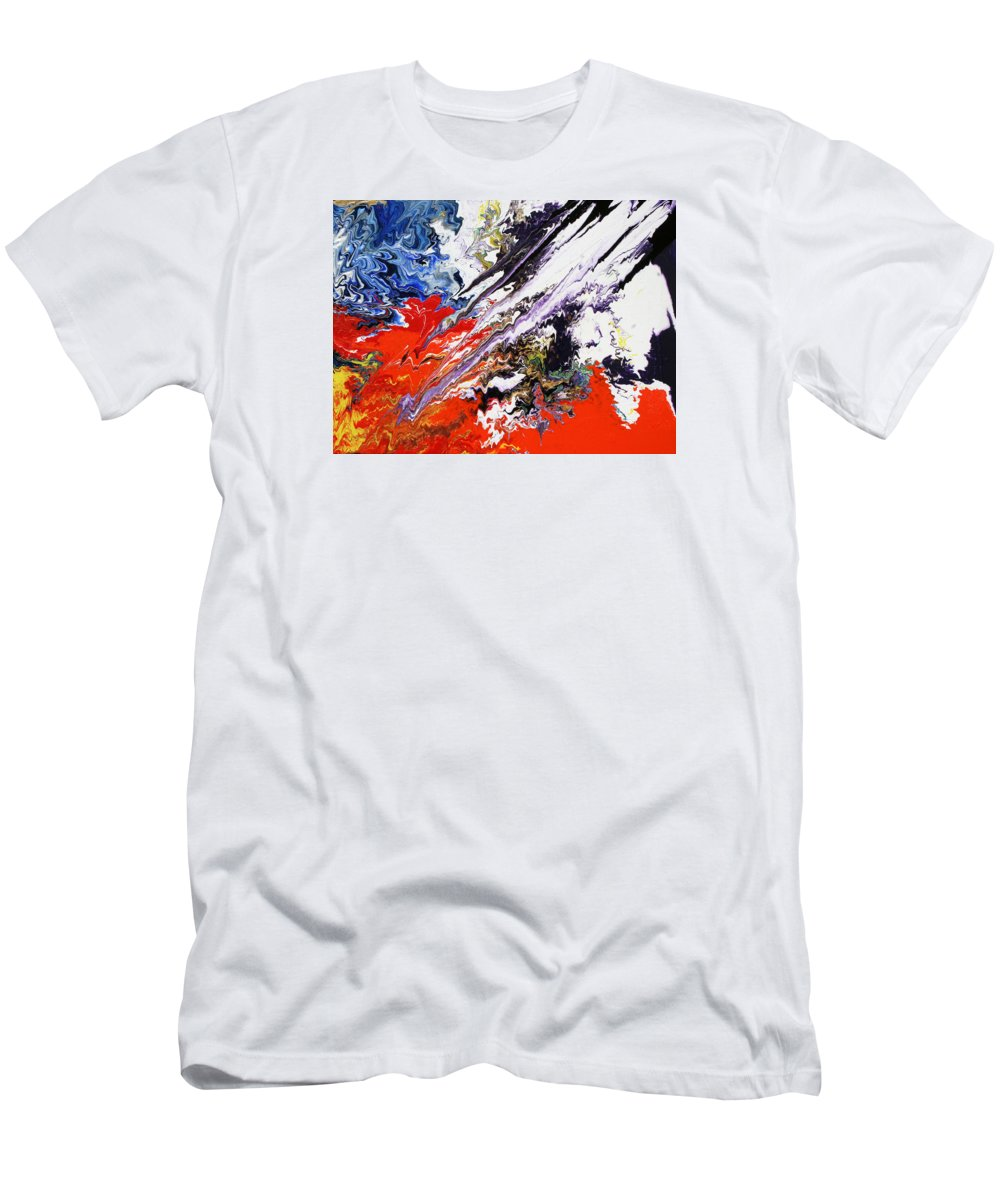 Fusionart T-Shirt featuring the painting Genesis by Ralph White