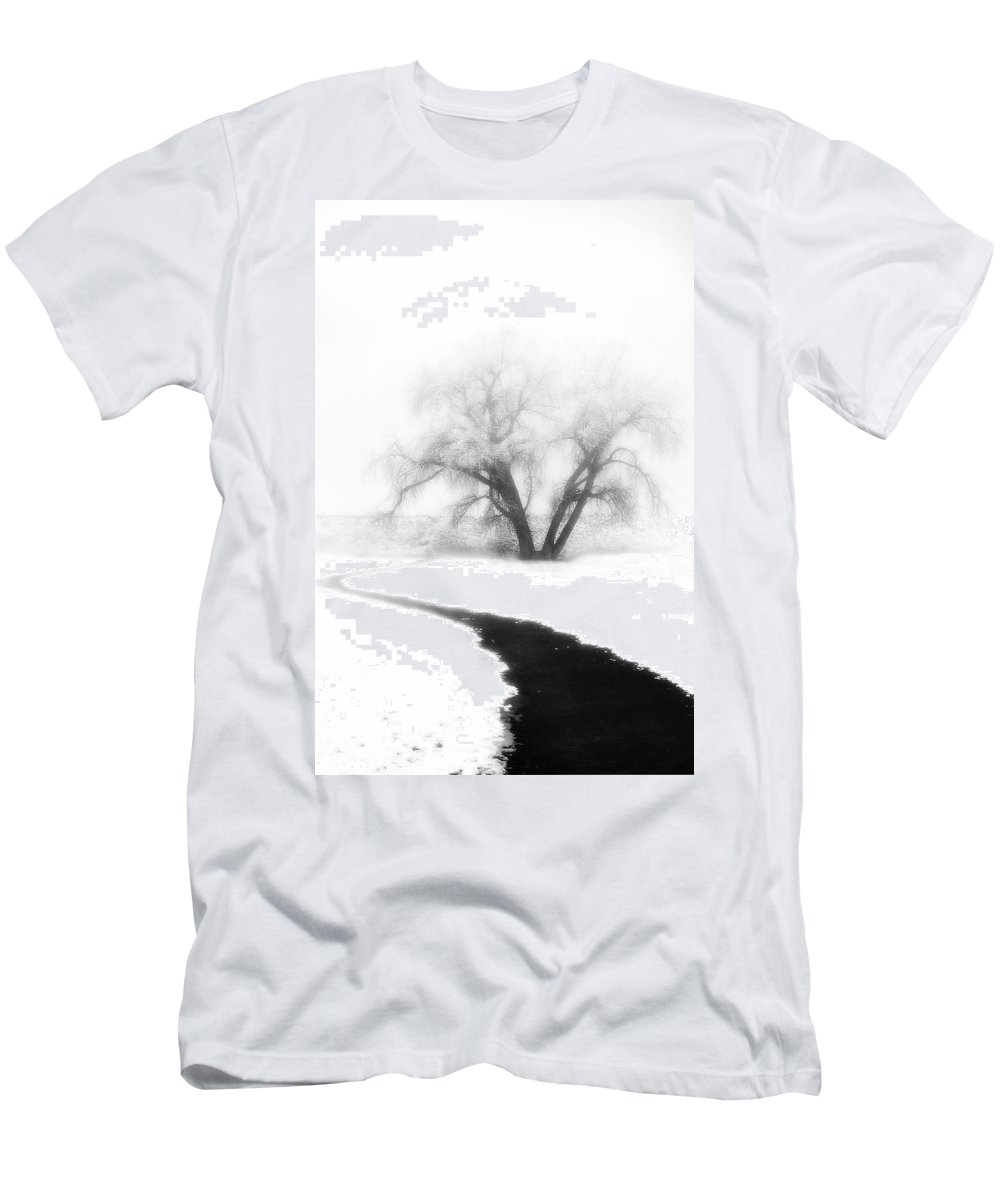 Tree T-Shirt featuring the photograph Getting There by Marilyn Hunt