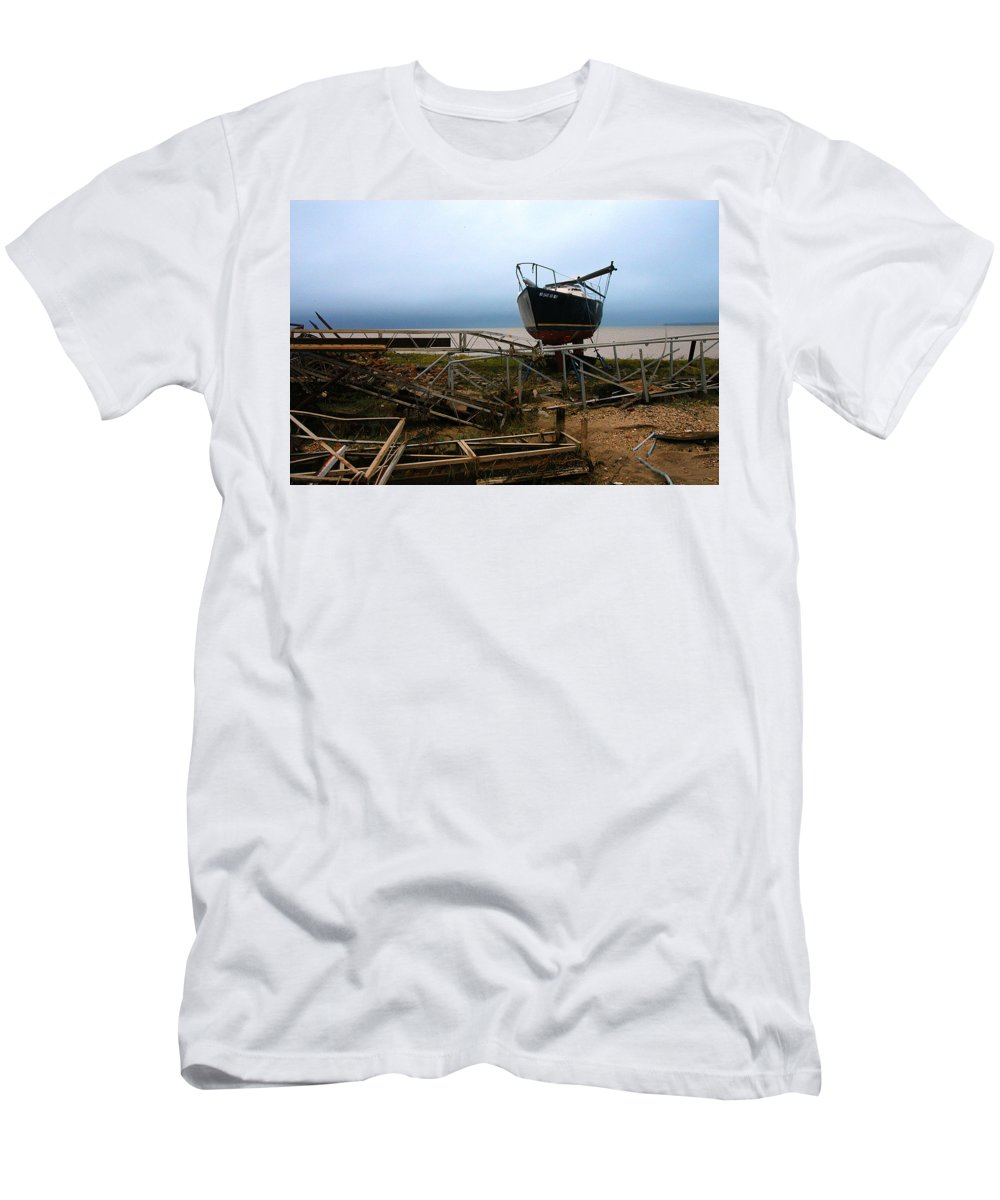 Clay Men's T-Shirt (Athletic Fit) featuring the photograph Ghost by Clayton Bruster