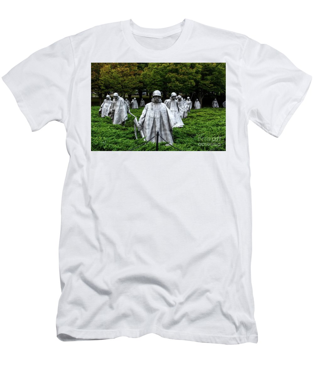 Ghost Soldiers Men's T-Shirt (Athletic Fit) featuring the photograph Ghost Soldiers by Davids Digits