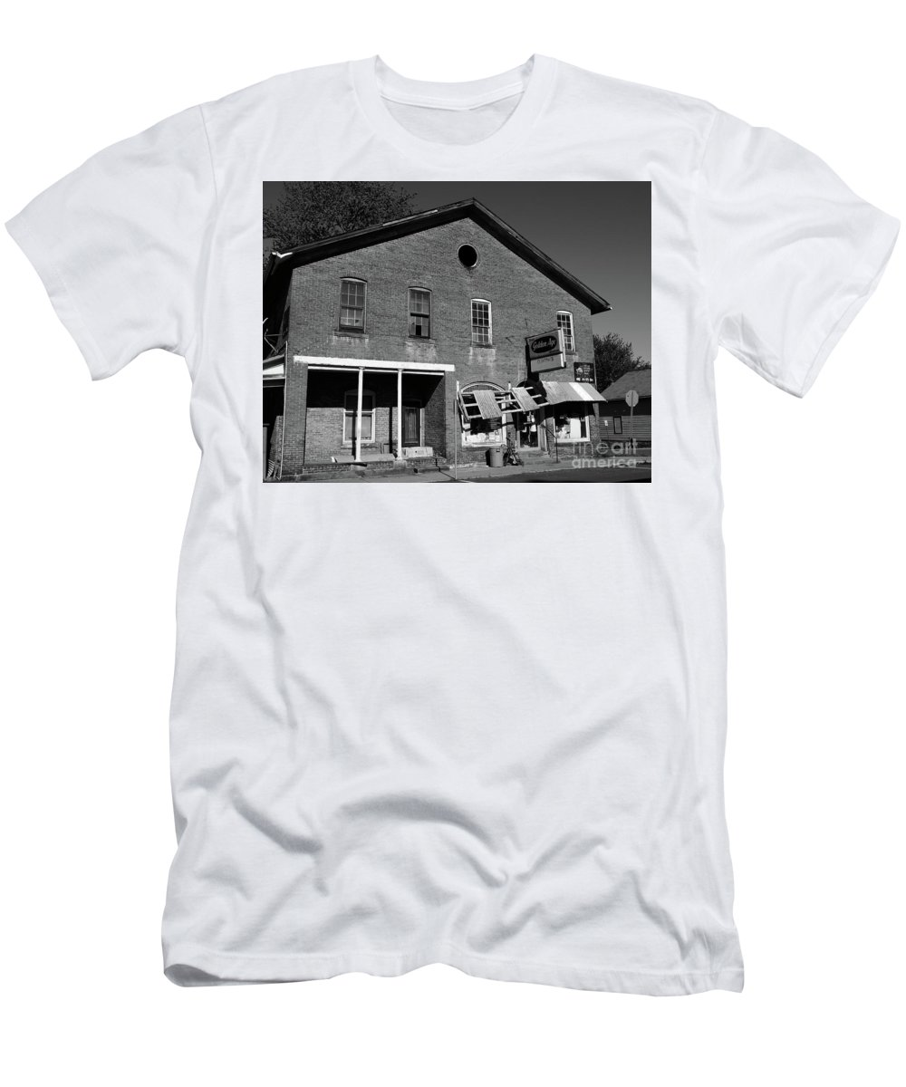 Old Men's T-Shirt (Athletic Fit) featuring the photograph Golden Age Gone by Rodney Perry