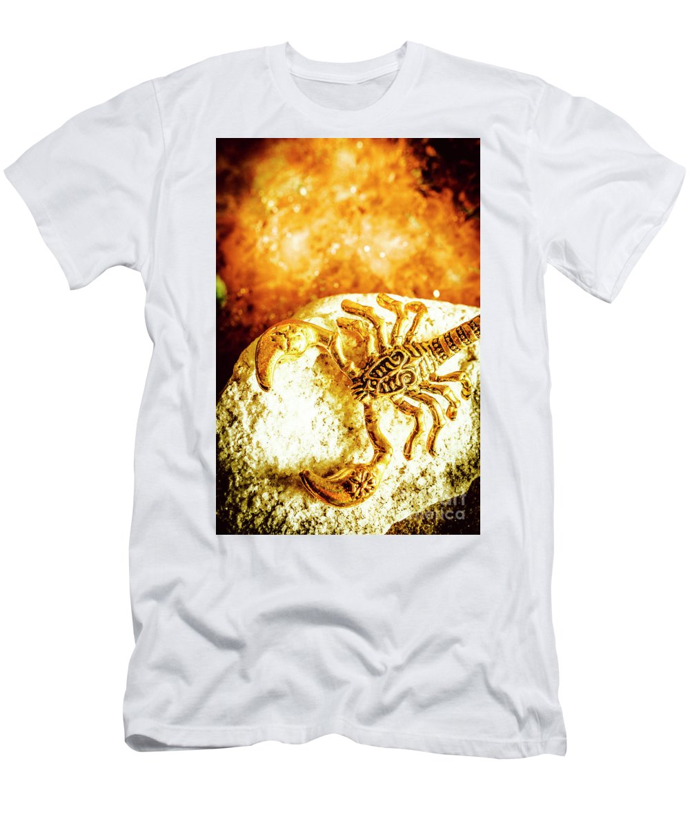 Luxury Men's T-Shirt (Athletic Fit) featuring the photograph Golden Treasures by Jorgo Photography - Wall Art Gallery
