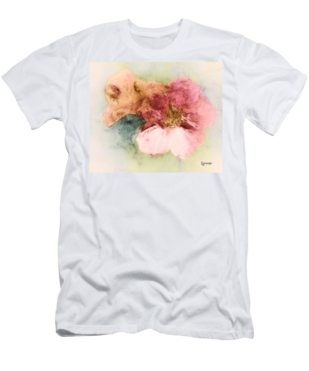 Flowers Men's T-Shirt (Athletic Fit) featuring the digital art Gone Native by RC DeWinter