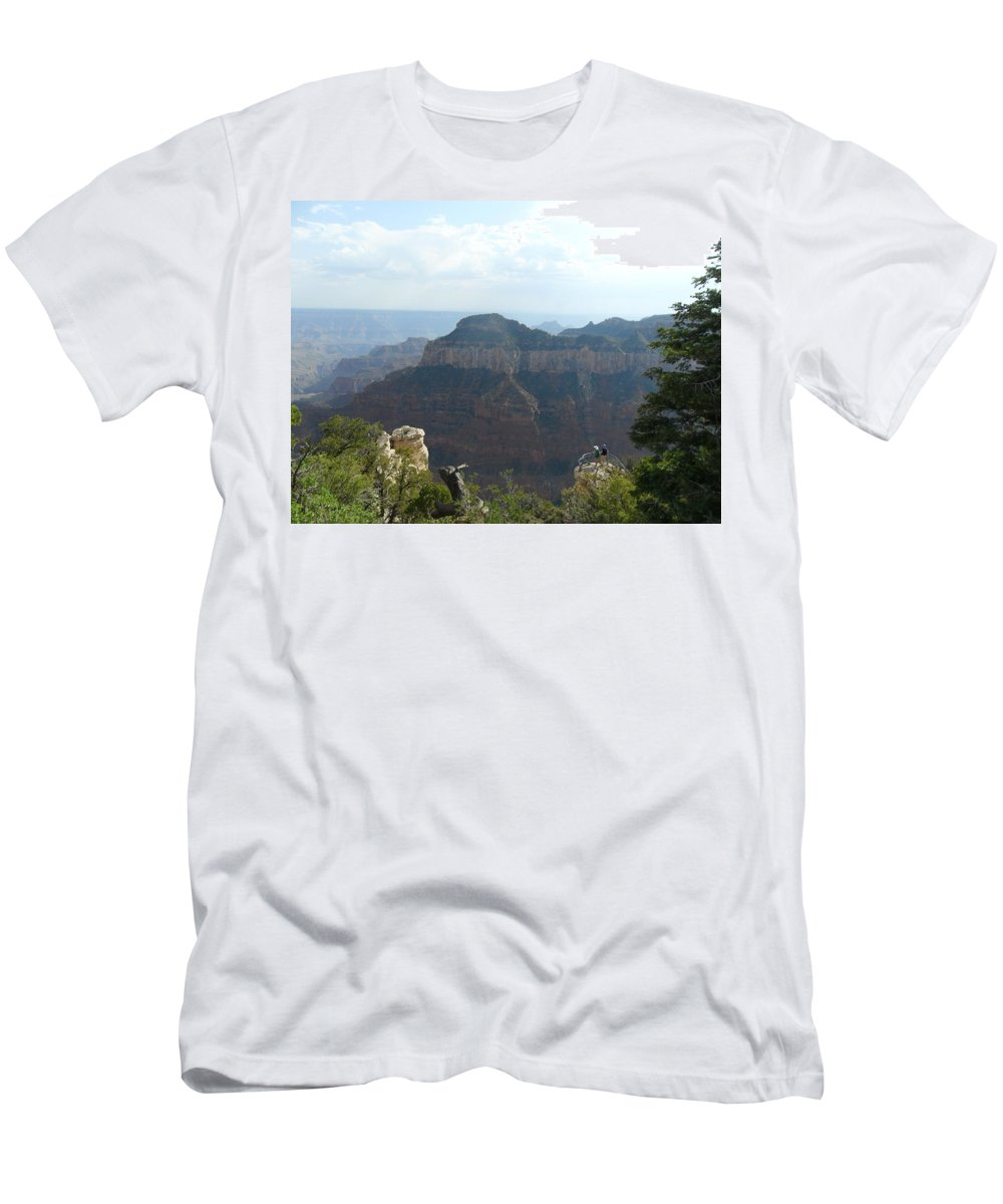 Photography Men's T-Shirt (Athletic Fit) featuring the photograph Grand Canyon 8 by Jocelyn Eastman
