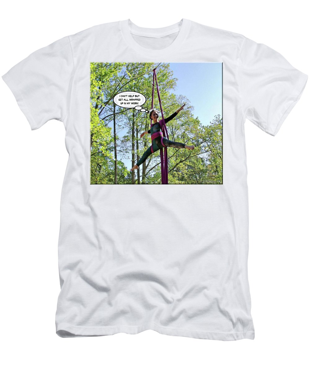 2d Men's T-Shirt (Athletic Fit) featuring the photograph Hang In There by Brian Wallace