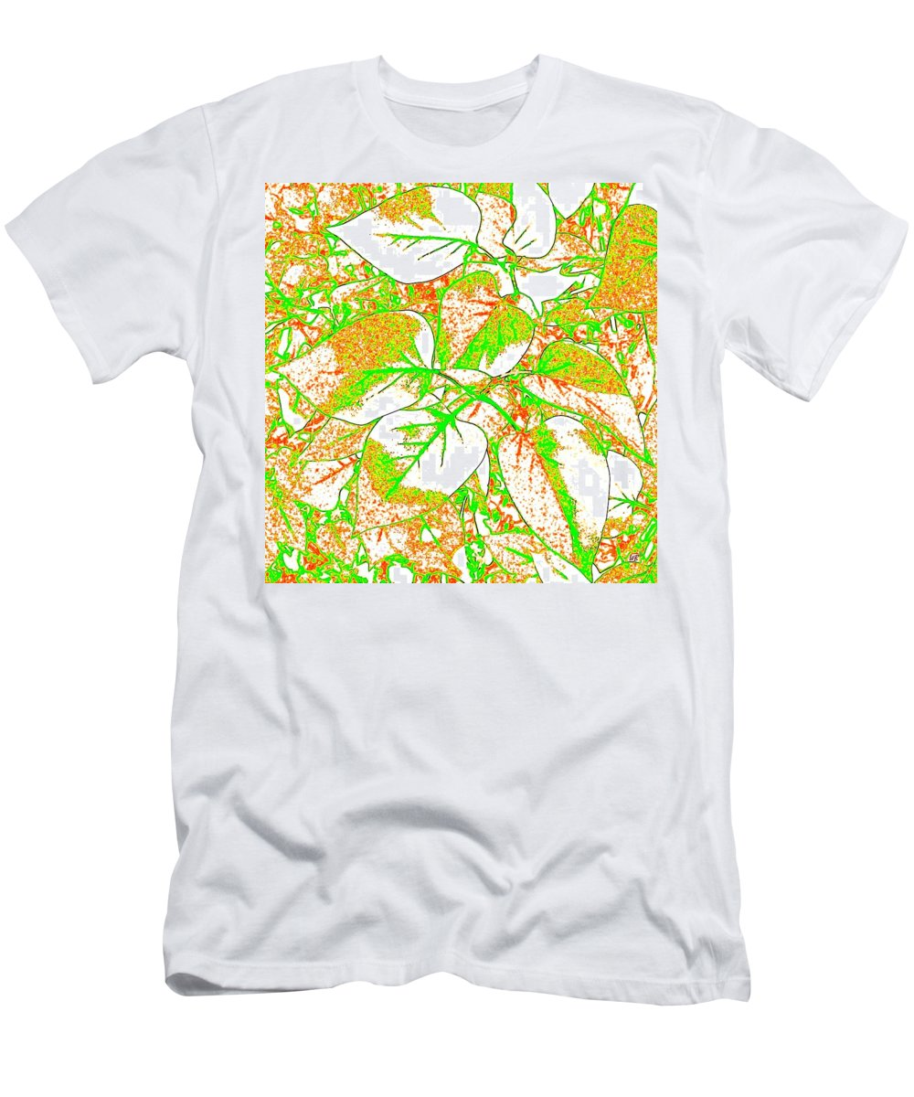 Abstract Men's T-Shirt (Athletic Fit) featuring the digital art Harmony 11 by Will Borden