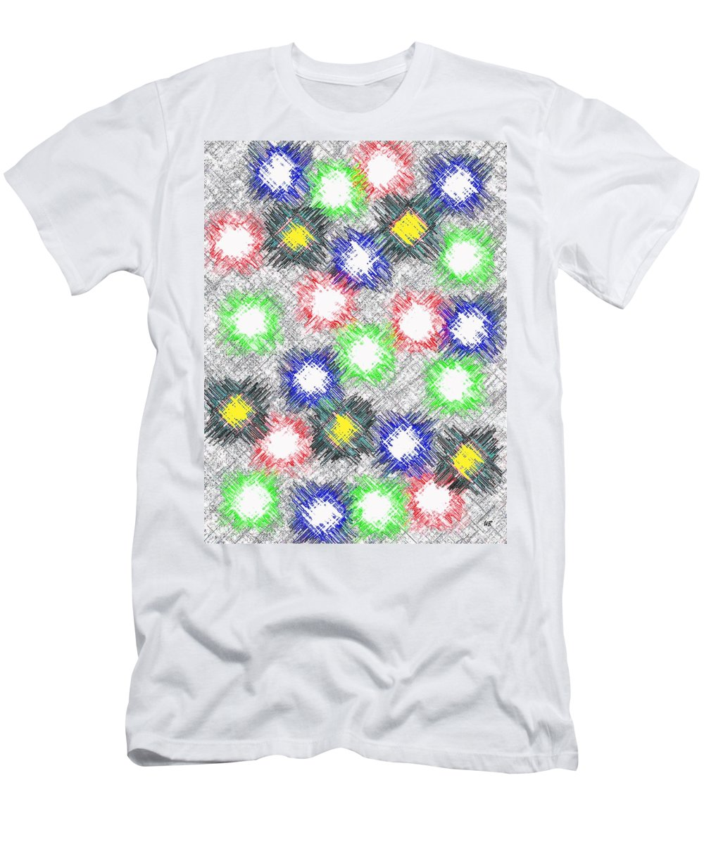Abstract T-Shirt featuring the digital art Harmony 32 by Will Borden