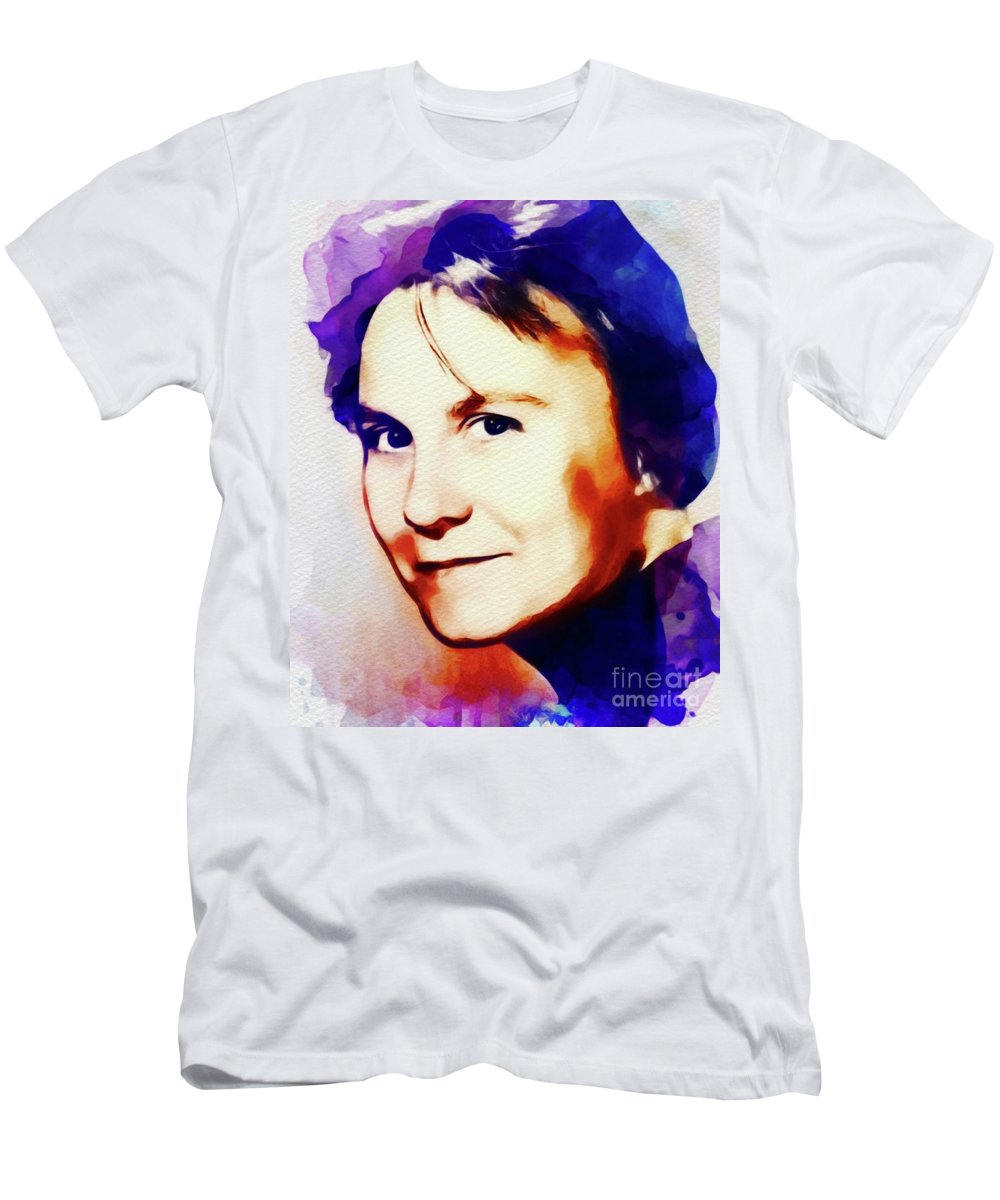 Harper Lee Paintings T-Shirts