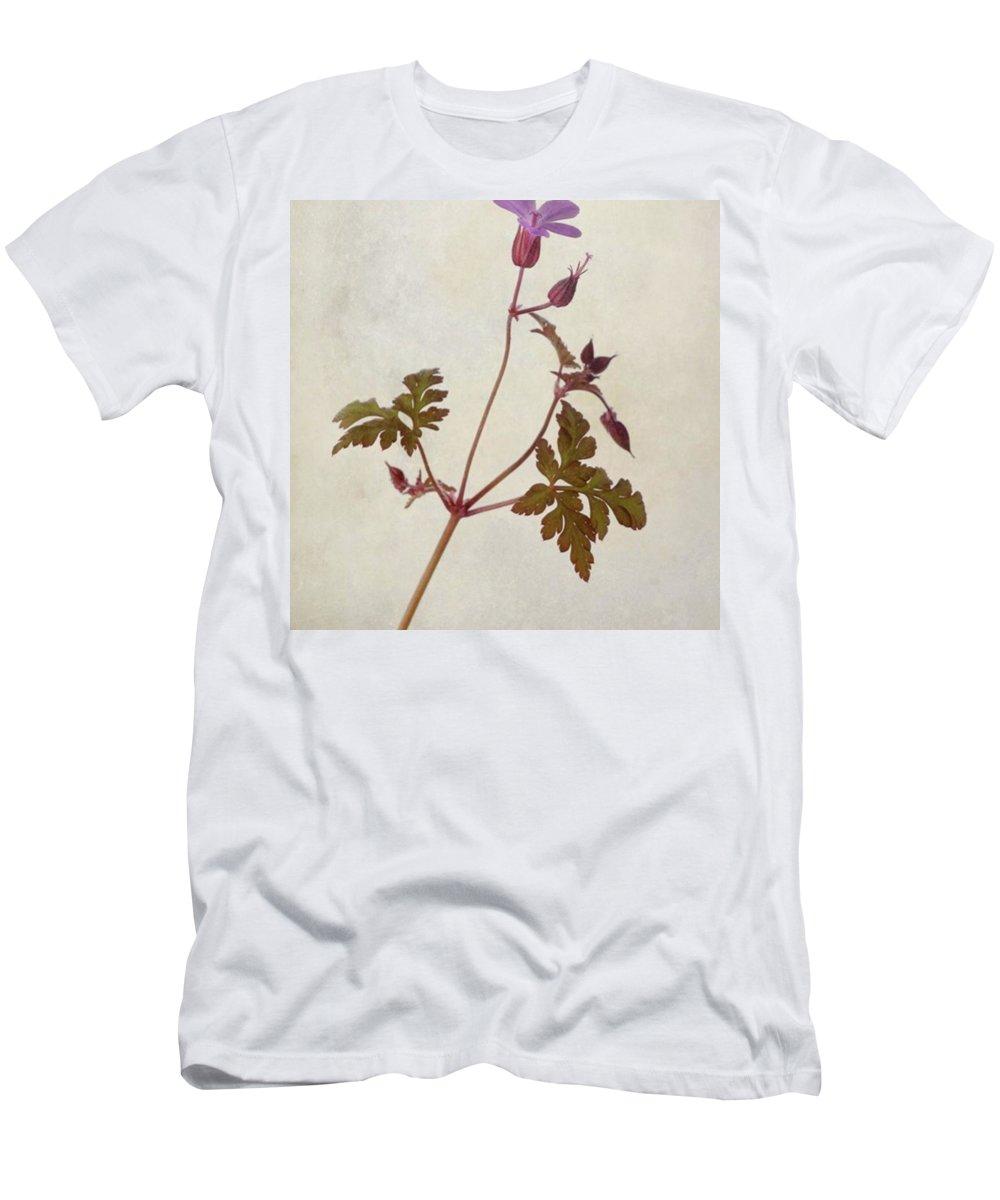 Beautiful T-Shirt featuring the photograph Herb Robert - Wild Geranium  #flower by John Edwards
