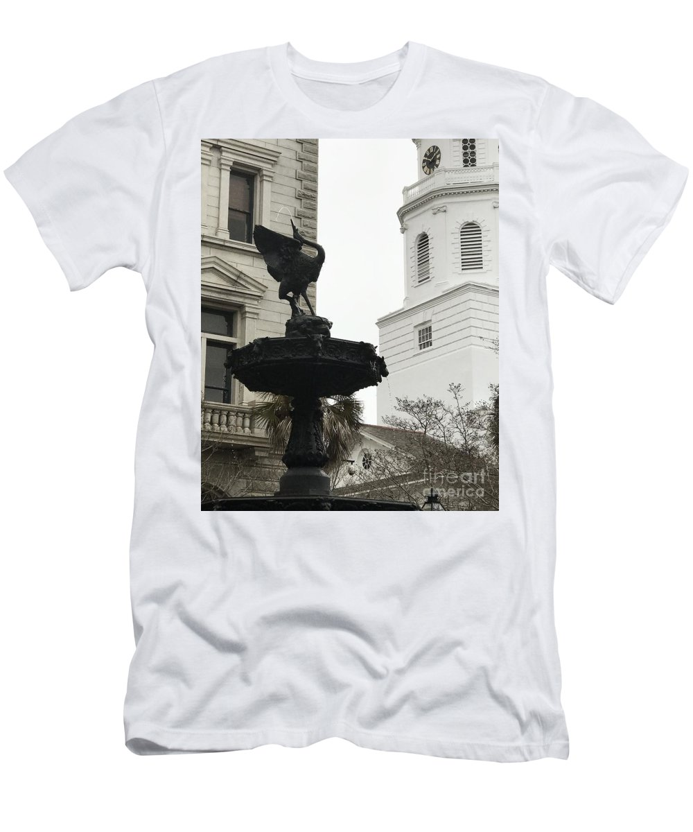 View Men's T-Shirt (Athletic Fit) featuring the photograph High by Wild Haven Photography
