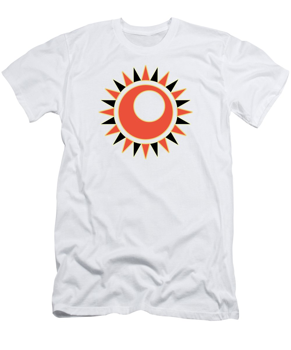 Sun Men's T-Shirt (Athletic Fit) featuring the digital art Hollow Star by Gaspar Avila