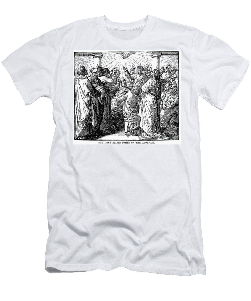 Act Men's T-Shirt (Athletic Fit) featuring the photograph Holy Spirit Visiting by Granger