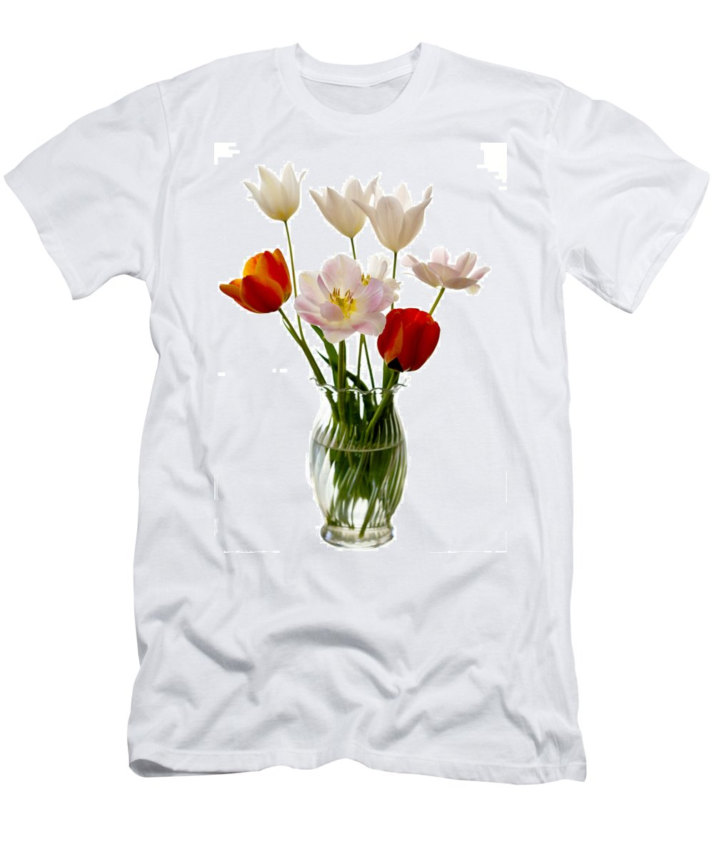 Flower Men's T-Shirt (Athletic Fit) featuring the photograph Home Grown by Marilyn Hunt