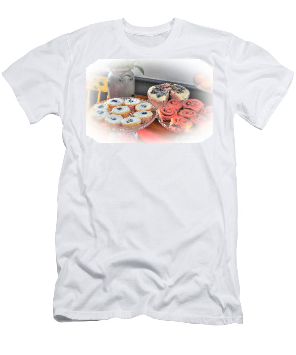 Home Men's T-Shirt (Athletic Fit) featuring the photograph Home Made Deserts by Kathleen Struckle