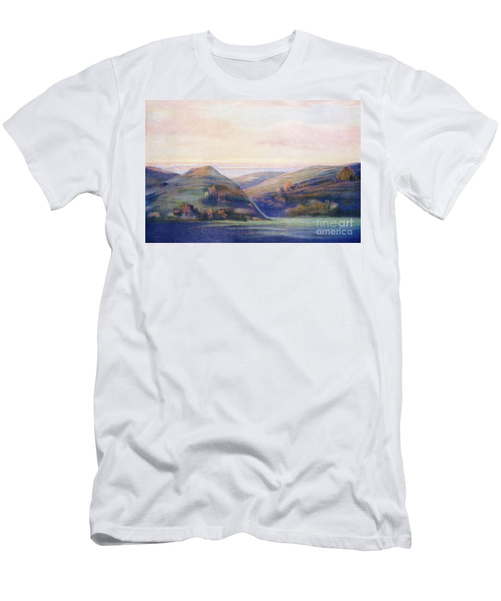1935 Men's T-Shirt (Athletic Fit) featuring the painting Hope Hayselden Art by Hawaiian Legacy Archive - Printscapes
