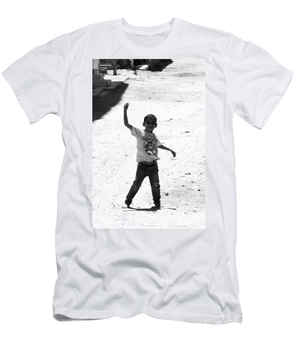 Jezcself Men's T-Shirt (Athletic Fit) featuring the photograph I Am The Champion by Jez C Self
