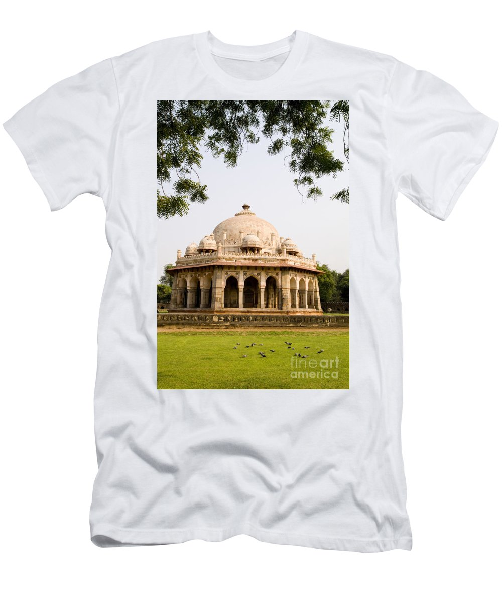 Ancient Men's T-Shirt (Athletic Fit) featuring the photograph Isa Khan Tomb Burial Sites by Bill Bachmann - Printscapes