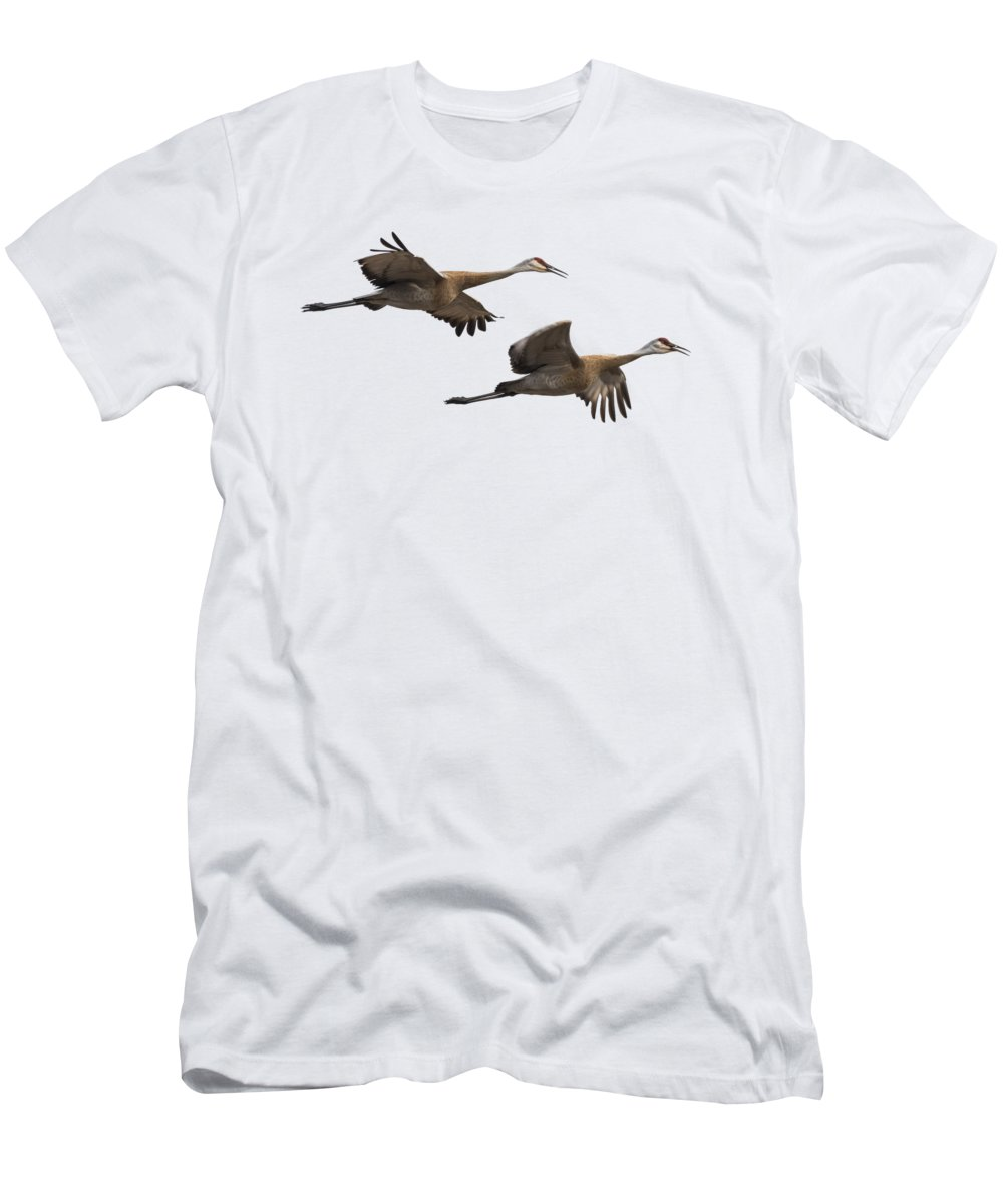 Sandhill Crane Photographs T-Shirts