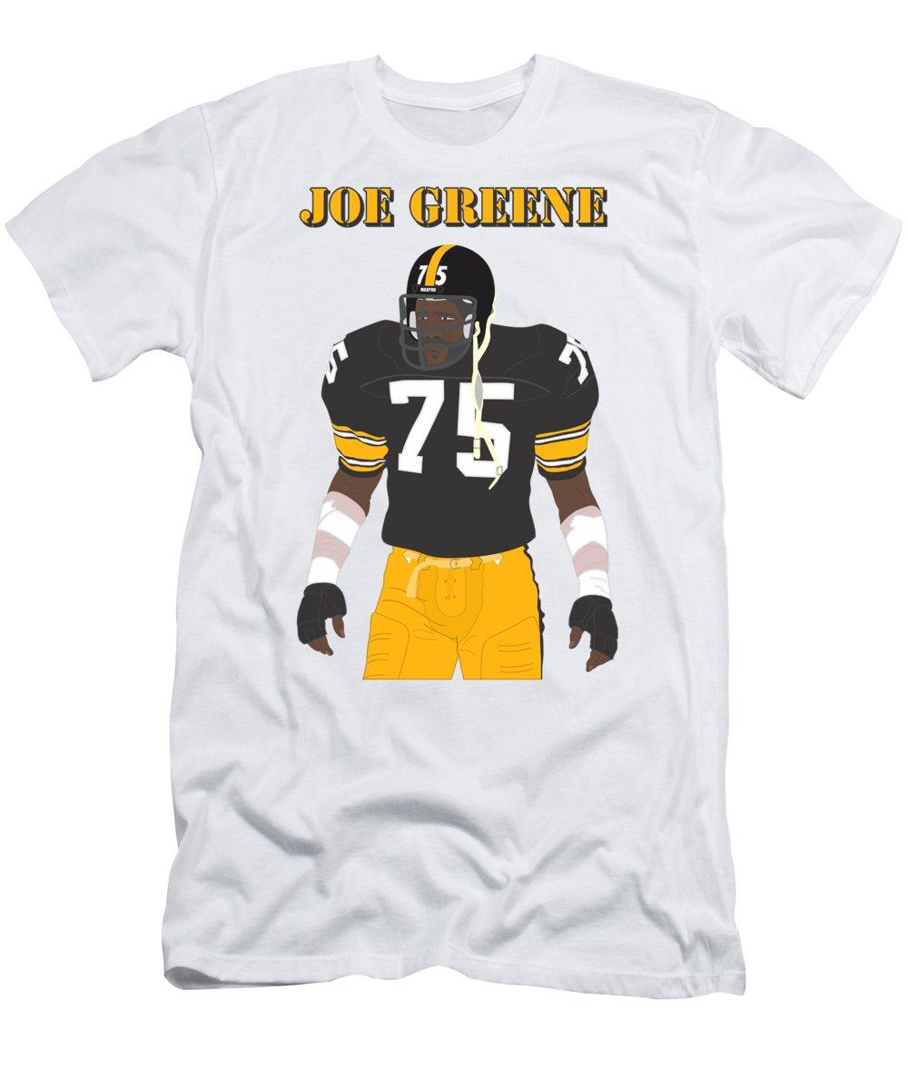 03edf40cb American Football Men s T-Shirt (Athletic Fit) featuring the digital art  Joe Greene