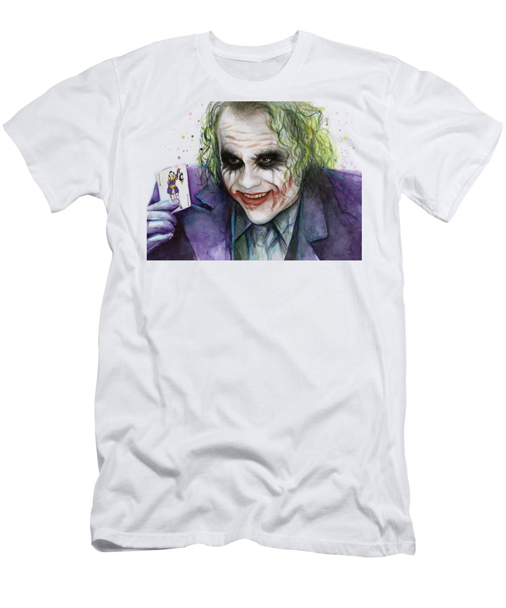 Heath Ledger Slim Fit T-Shirts