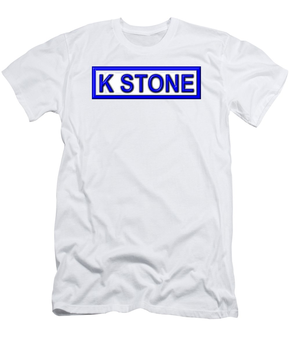 K Stone Men's T-Shirt (Athletic Fit) featuring the digital art K Stone by K STONE UK Music Producer