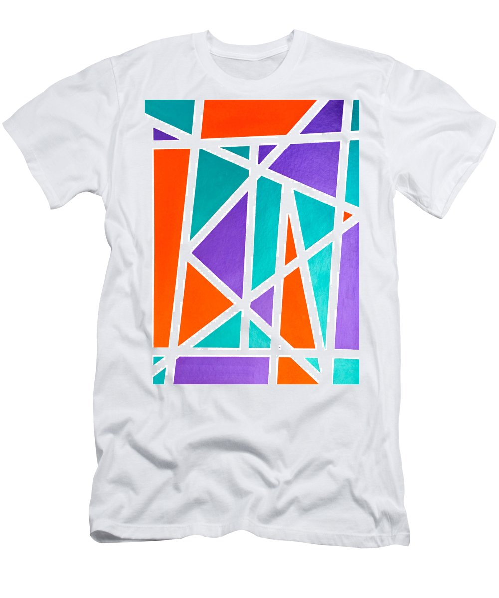 Kind Men's T-Shirt (Athletic Fit) featuring the painting Kind by Lee Serenethos