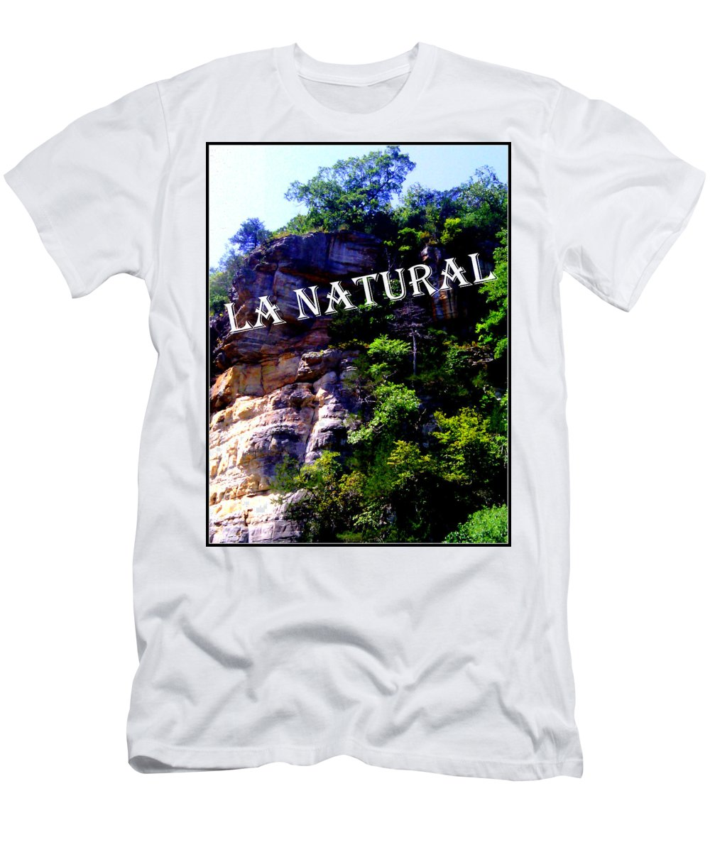 Green Men's T-Shirt (Athletic Fit) featuring the photograph La Natural 2 by Lesli Sherwin