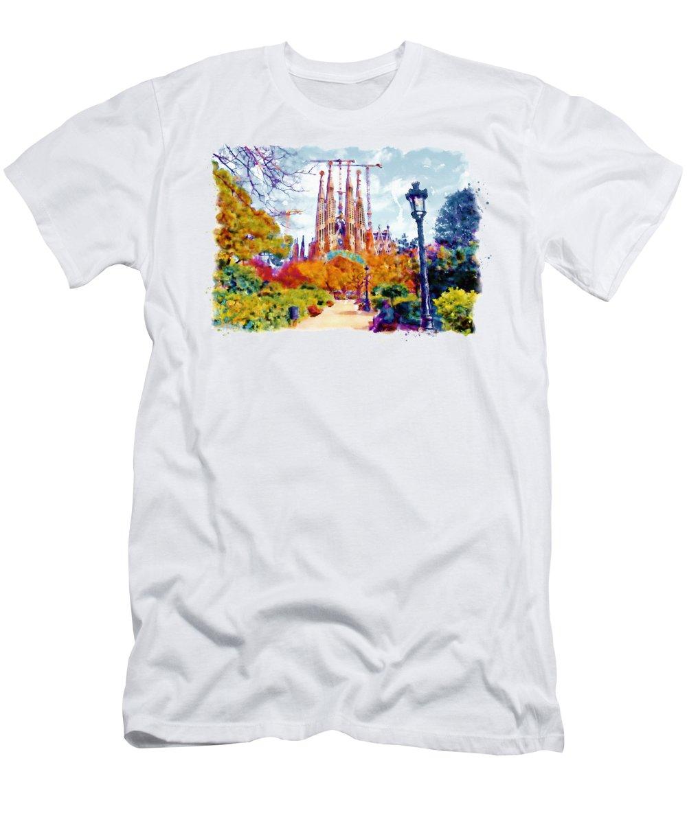 Churches Paintings T-Shirts