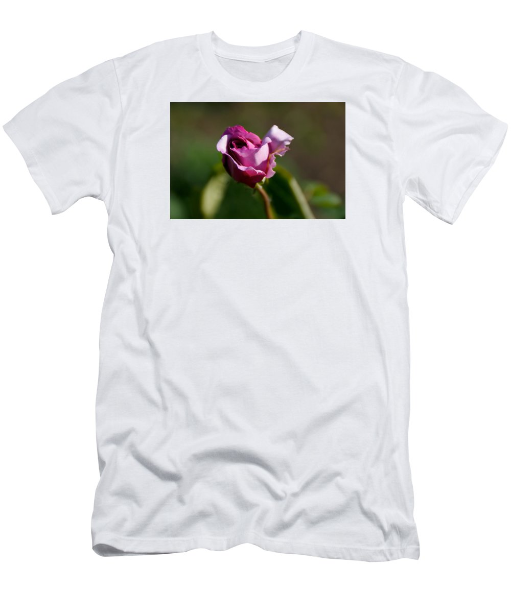 Flower T-Shirt featuring the photograph Lavender Rose by Toni Berry