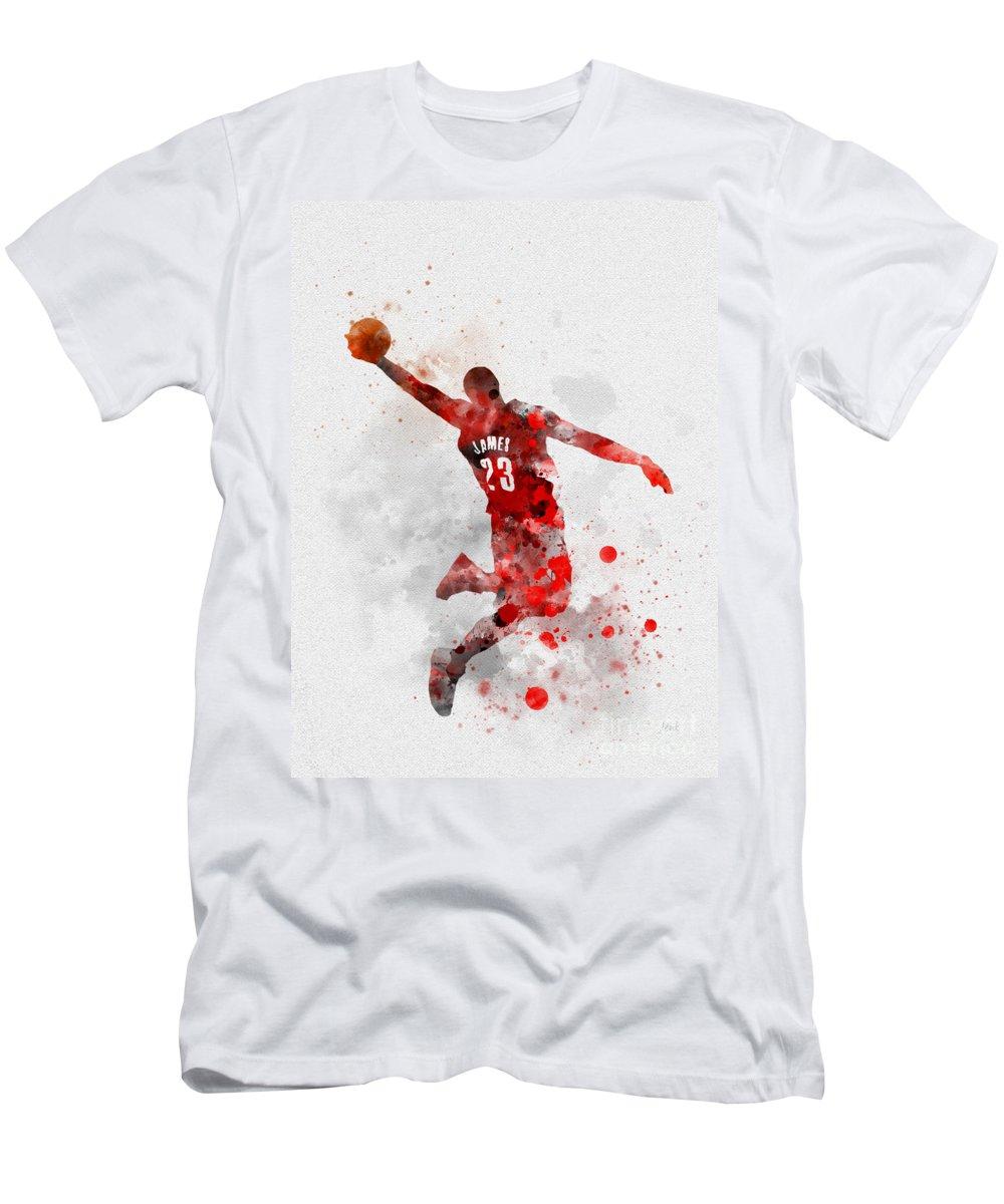 best service 800fb 0bef7 Lebron James Men's T-Shirt (Athletic Fit)