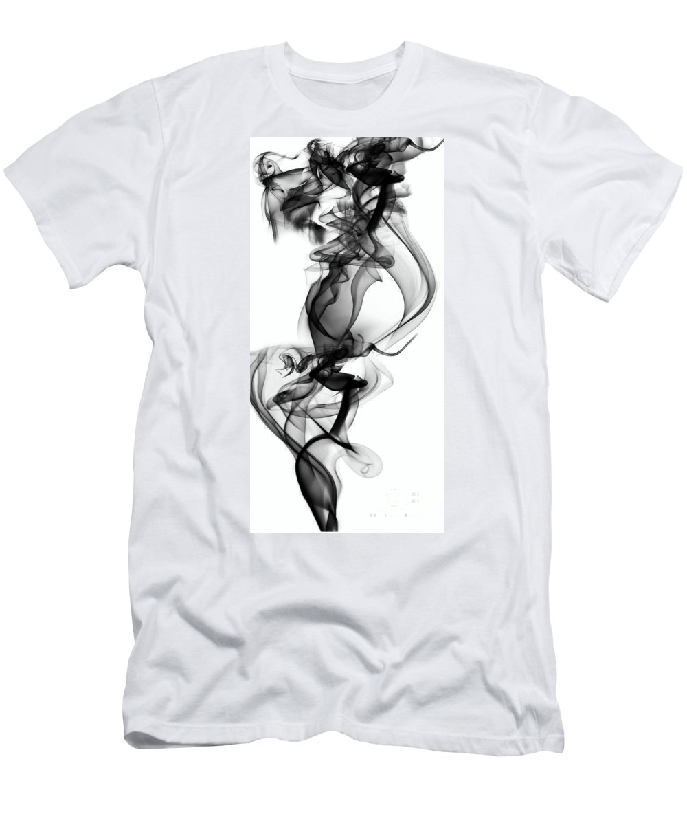 Clay Men's T-Shirt (Athletic Fit) featuring the digital art Lift by Clayton Bruster