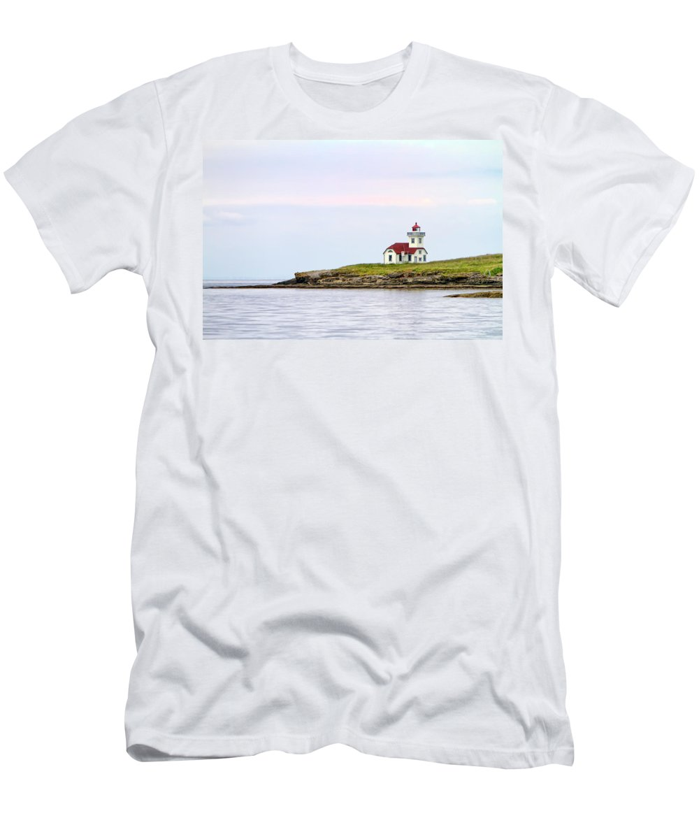 Lime Kiln Men's T-Shirt (Athletic Fit) featuring the digital art Lime Kiln IIi by Janet Fikar