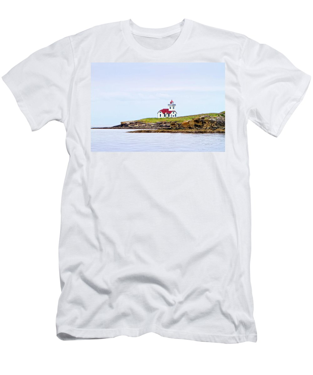 Lime Kiln Men's T-Shirt (Athletic Fit) featuring the digital art Lime Kiln Iv by Janet Fikar