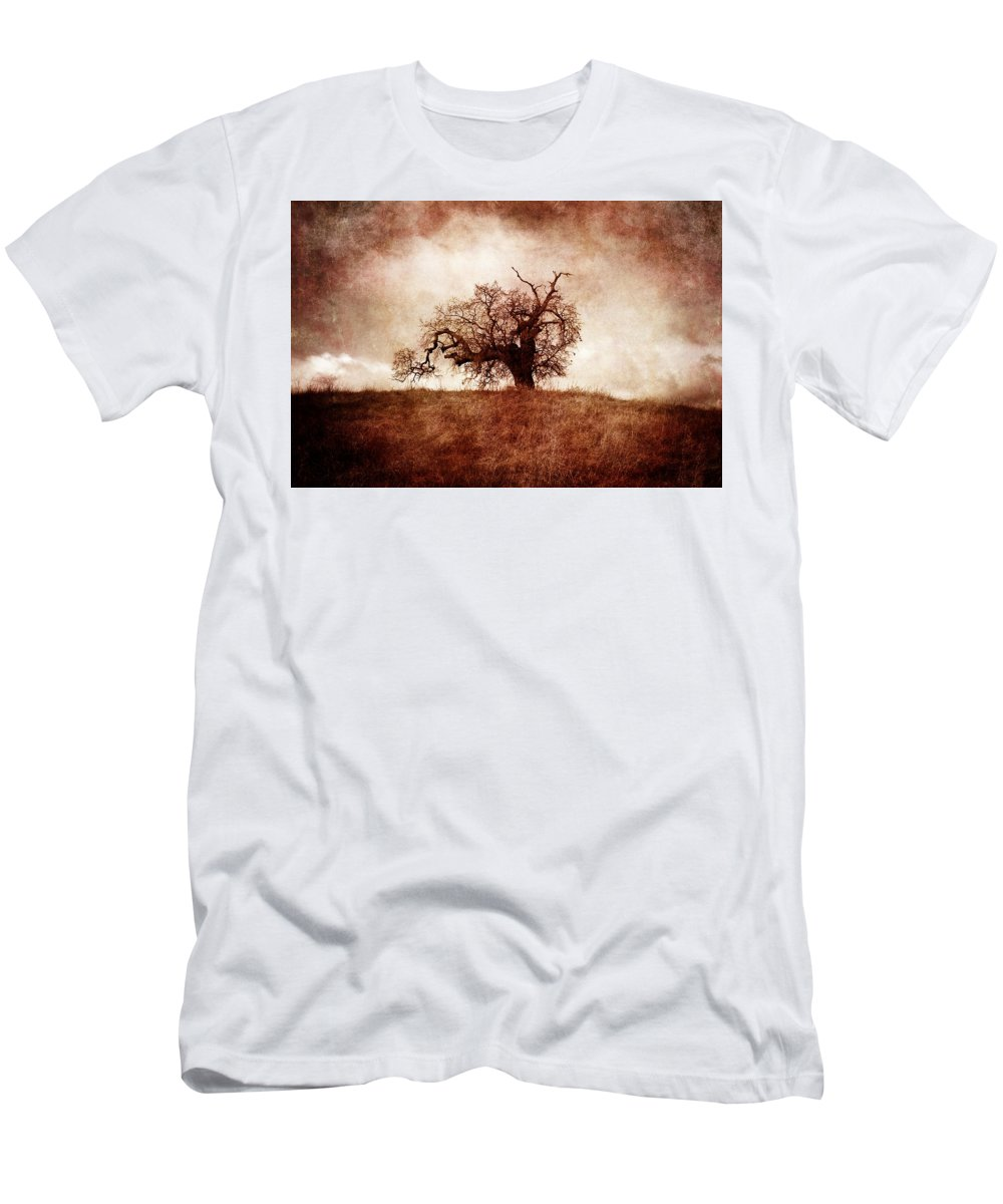 Photography Men's T-Shirt (Athletic Fit) featuring the photograph Lost And Wandering by Laura Iverson