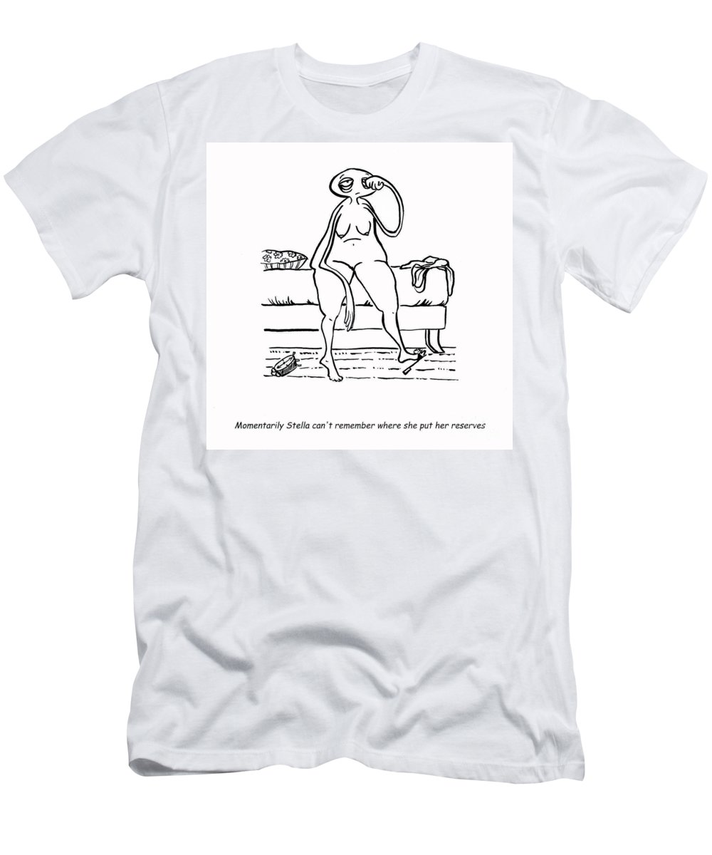 Stella Art Men's T-Shirt (Athletic Fit) featuring the digital art Lost Reserves by Leanne Wilkes