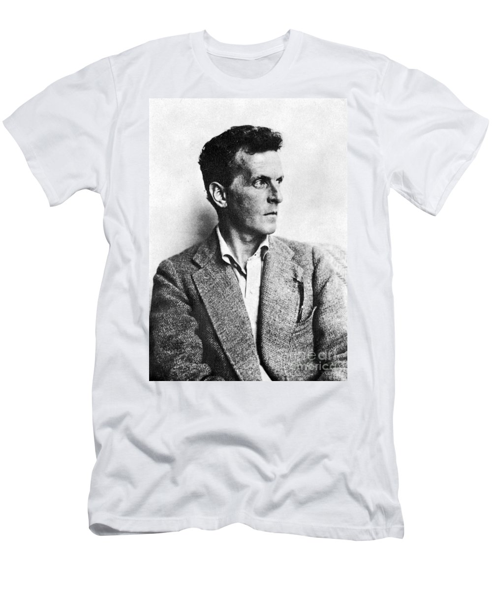 20th Century Men's T-Shirt (Athletic Fit) featuring the photograph Ludwig Wittgenstein by Granger