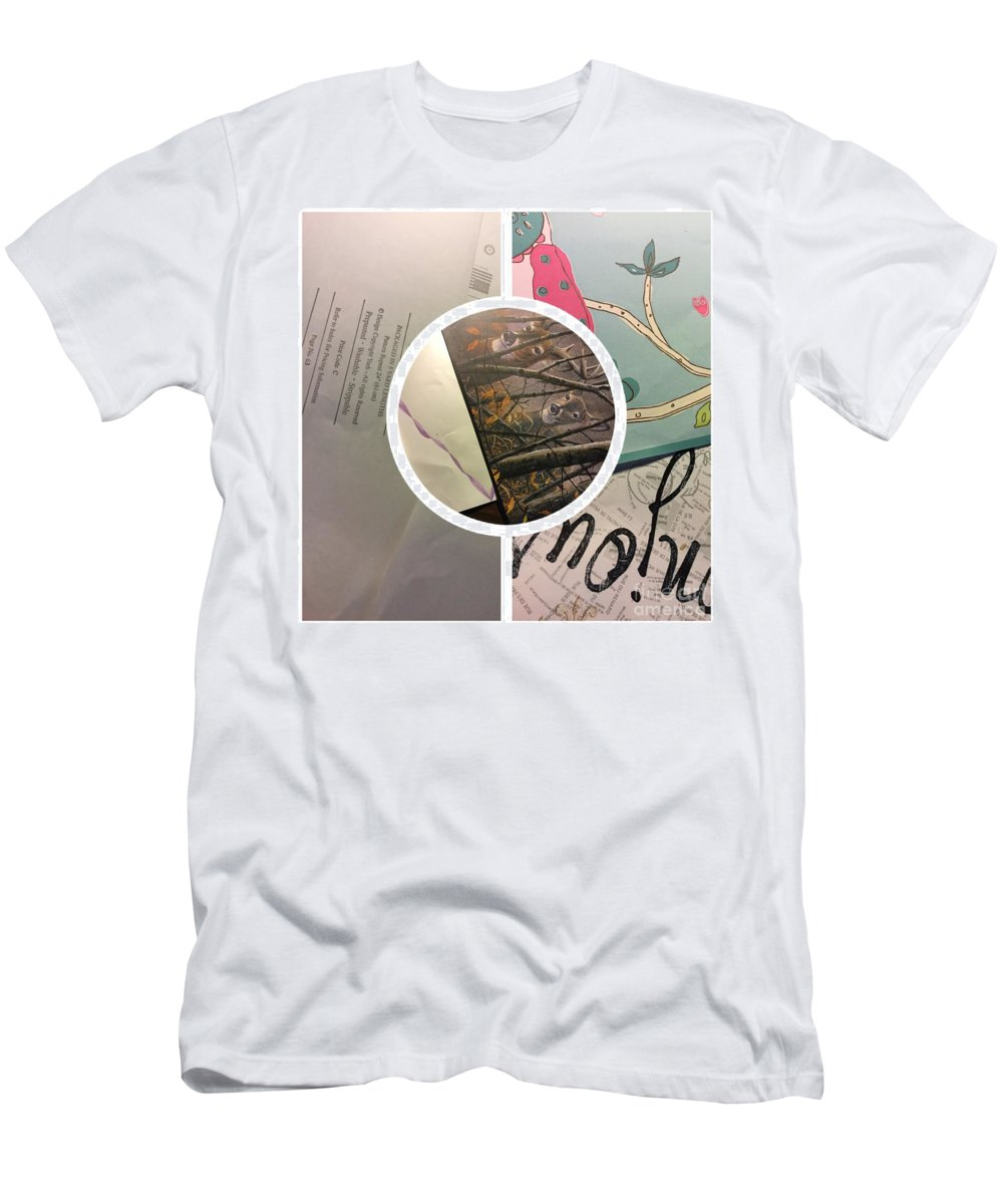 Abstract Men's T-Shirt (Athletic Fit) featuring the photograph Madness by Alwyn Glasgow