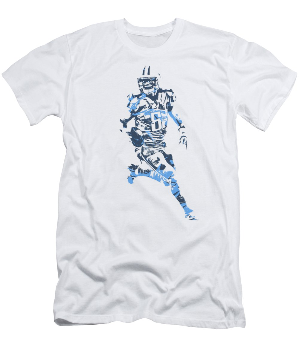newest 96dbf f0563 Marcus Mariota Tennessee Titans Pixel Art T Shirt 3 Men's T-Shirt (Athletic  Fit)