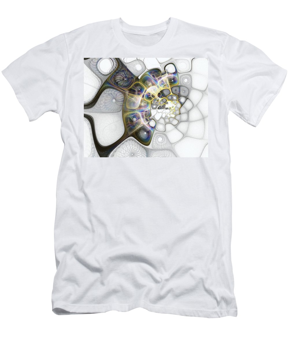Digital Art Men's T-Shirt (Athletic Fit) featuring the digital art Memories II by Amanda Moore