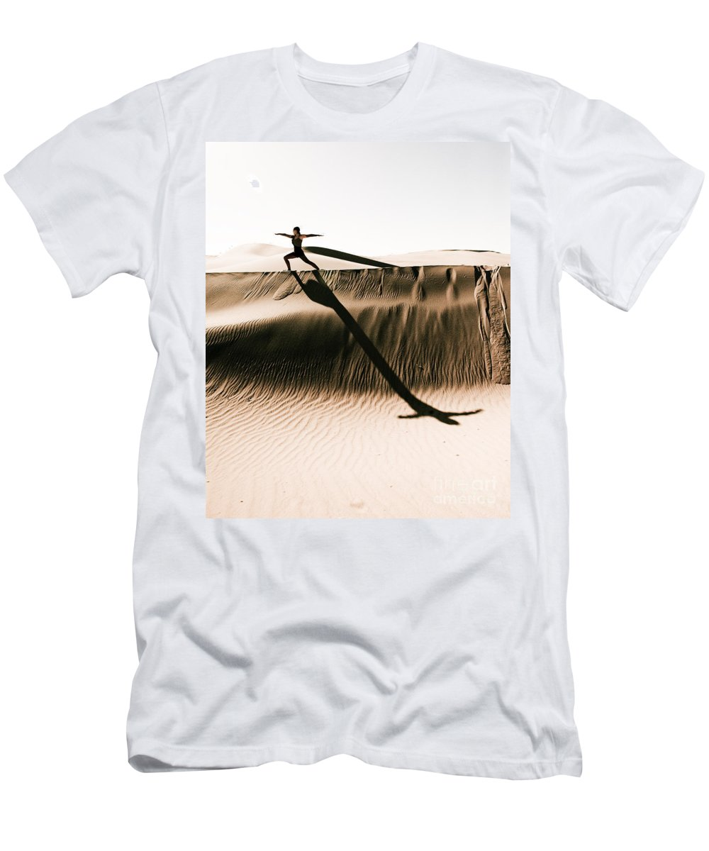 Yoga Men's T-Shirt (Athletic Fit) featuring the photograph Mid Morning Anthem by Scott Sawyer