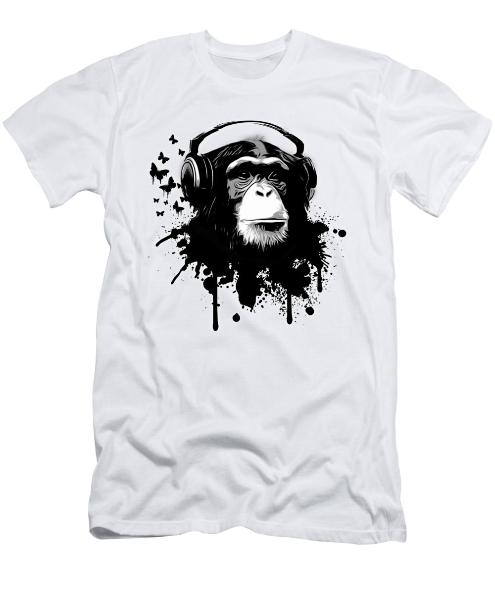 Chimpanzee Slim Fit T-Shirts