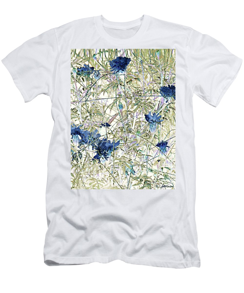 Asian Men's T-Shirt (Athletic Fit) featuring the painting Motif Japonica No. 10 by RC DeWinter