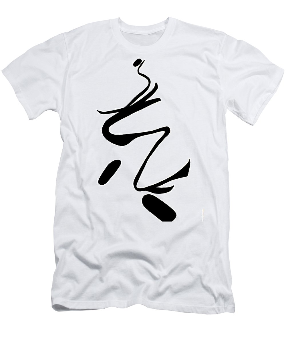 Moveonart! New York / San Francisco / Oklahoma / Portland / Missoula Jacob Kanduch Men's T-Shirt (Athletic Fit) featuring the digital art Moveonart Minimal 3 A by Jacob Kanduch