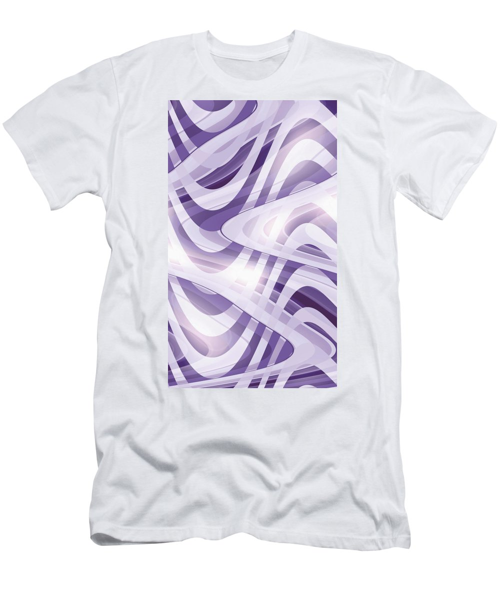 Moveonart! Digital Gallery Lower Nob Men's T-Shirt (Athletic Fit) featuring the digital art Moveonart The Coming Song 1 by Jacob Kanduch