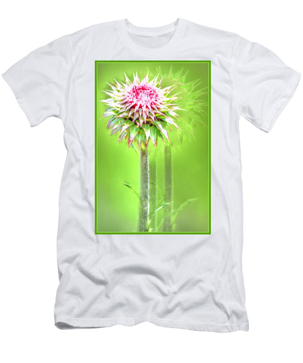 Nature Men's T-Shirt (Athletic Fit) featuring the photograph Moving by James Whitworth