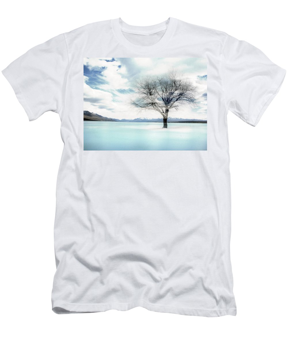 Nature T-Shirt featuring the photograph Nature - The Lonely Tree by Munir Alawi