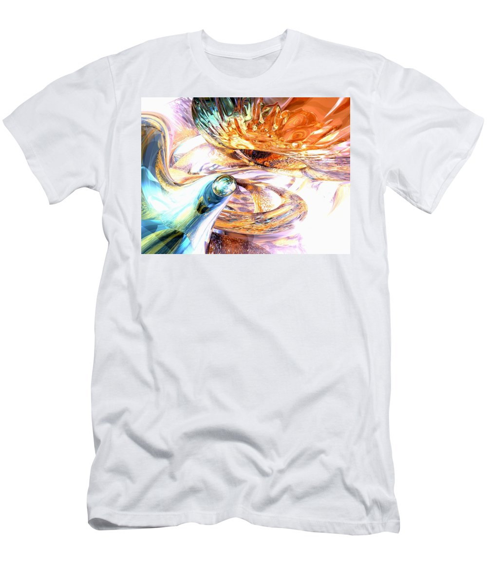 3d T-Shirt featuring the digital art New Beginnings Abstract by Alexander Butler