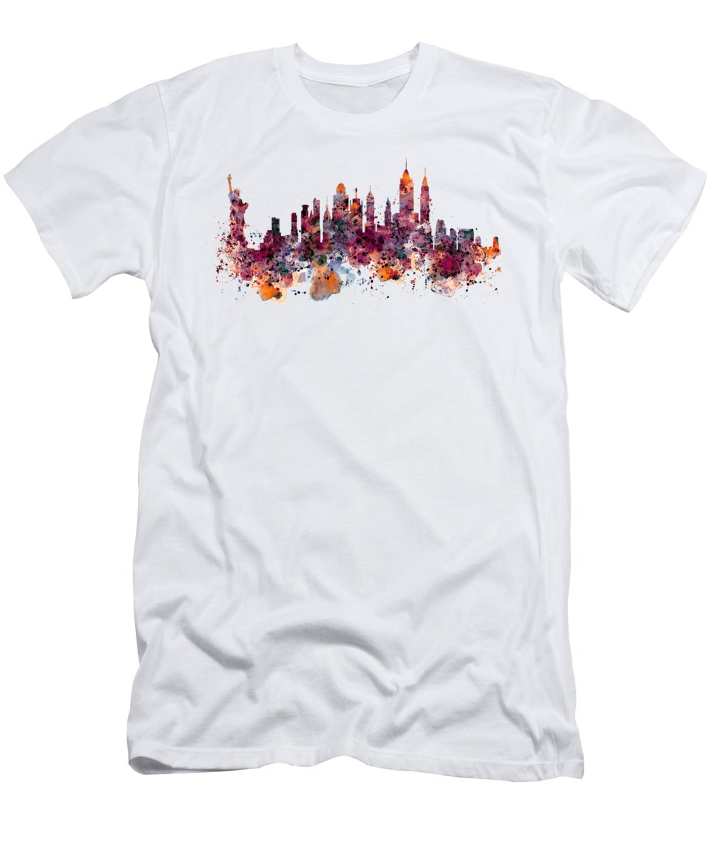 Statue Of Liberty Slim Fit T-Shirts