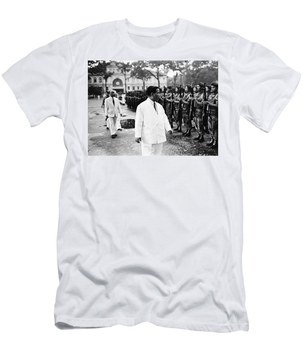 1963 Men's T-Shirt (Athletic Fit) featuring the photograph Ngo Dinh Diem (1901-1963) by Granger