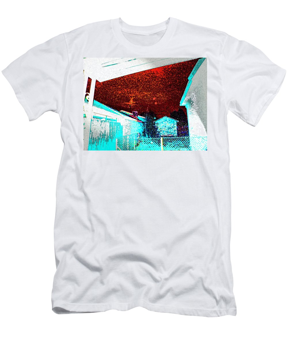 Abstract Men's T-Shirt (Athletic Fit) featuring the photograph Night Sky by Lenore Senior